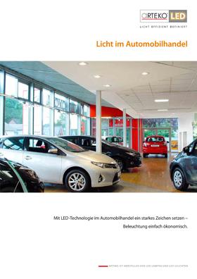 Cover Licht für den Automobilhandel