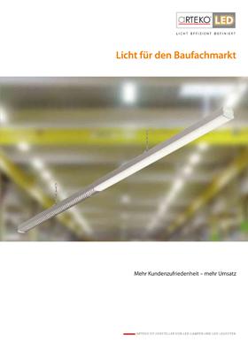 Cover Beleuchtung für den Baufachmarkt