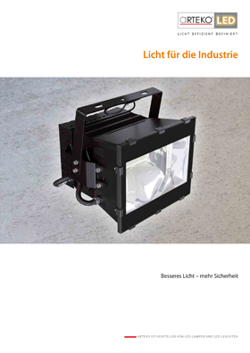 Cover Industriebeleuchtung