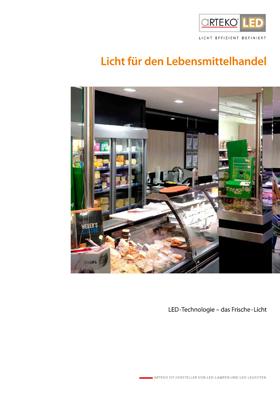 Cover Licht für den Lebensmittelhandel