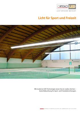 Cover Licht für Sport und Freizeitbeleuchtung