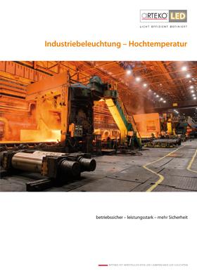 Cover Industriebeleuchtung - Hochtemperatur
