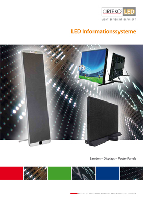 Cover LED-Informationssysteme