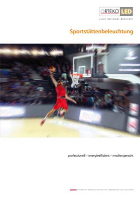 Cover Sportstättenbeleuchtung